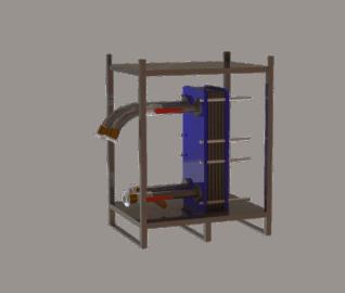 Plattenwärmetauscher ME 400 C