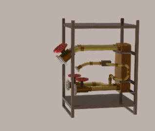 Plattenwärmetauscher ME 400 H BWW
